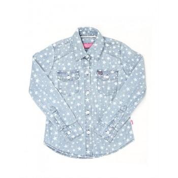 London Fog Girls Casual Wear Printed Shirt
