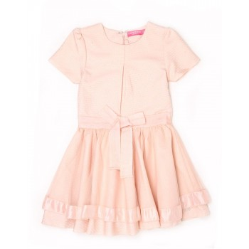 London Fog Girls Casual Wear Solid Dress
