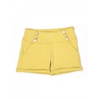 London Fog Girls Casual Wear Solid Shorts