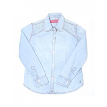 London Fog Girls Casual Wear Solid Shirt