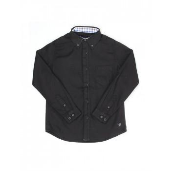 London Fog Boys Casual Wear Solid Shirt