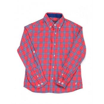 London Fog Boys Casual Wear Checkered Shirt