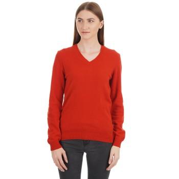 London Fog Women Solid Casual Wear Sweater