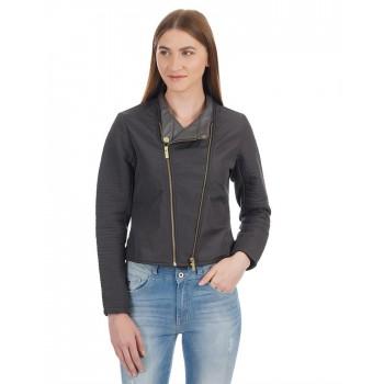 London Fog Women Solid Casual Wear Jacket