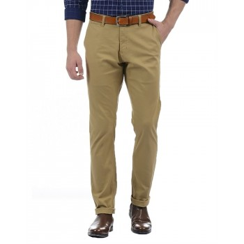 London Fog Men Casual Wear Solid Trouser
