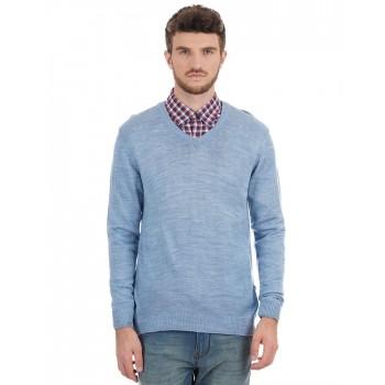 London Fog Men Solid Casual Wear Sweater