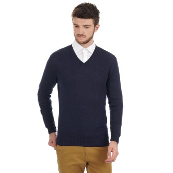 London Fog Men Solid Casual Wear Sweater