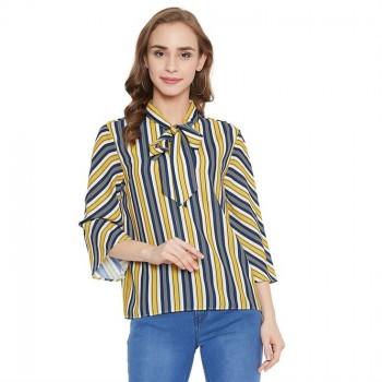 Madame Women Casual Wear Multicolor Top