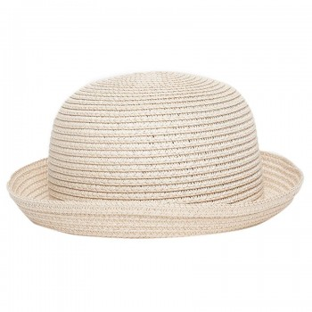 Miniklub Girls Beige Textured Hat