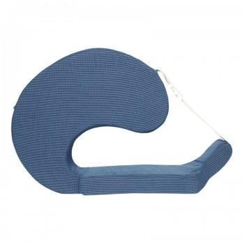 Miniklub Unisex Blue Textured Pillow