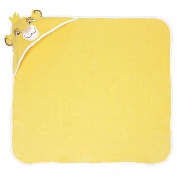 Miniklub Unisex Solid Yellow Towel