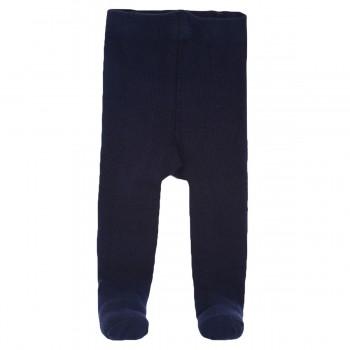 Miniklub Girls Solid Navy Blue Stockings
