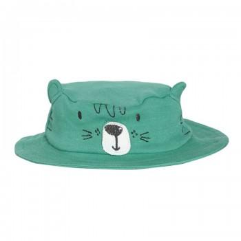 Miniklub Boys Embroidered Green Cap