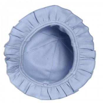 Miniklub Girls Solid Blue Cap