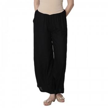 Miniklub Women Solid Black Pyjama