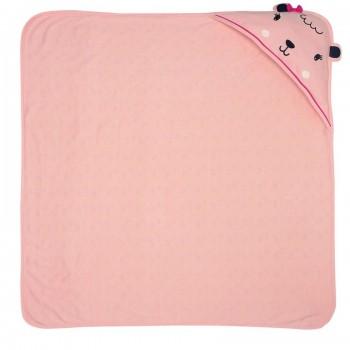 Miniklub Girls Pink Solid Wrapper