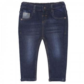 Miniklub Boys Blue Solid Jeans
