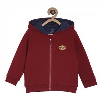 Miniklub Boys Red Solid Jacket