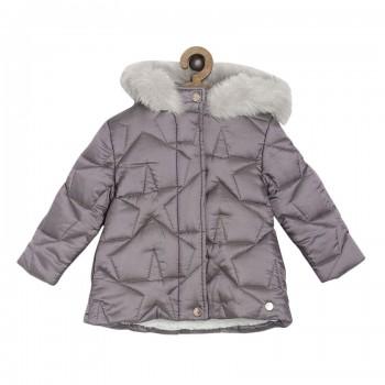 Miniklub Girls Purple Solid Jacket