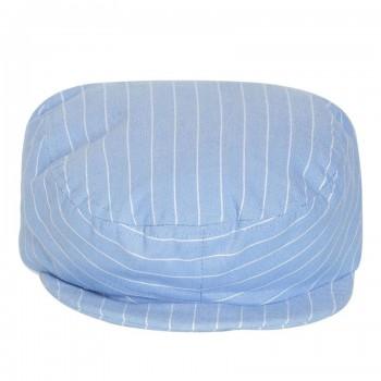 Miniklub Boys Striped Blue Cap