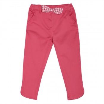 Miniklub Girls Pink Solid Trousers