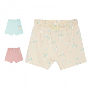Miniklub Girls Multicolor Printed Pack of 3 Shorts
