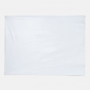 Miniklub Unisex Off White Solid Bed Protector