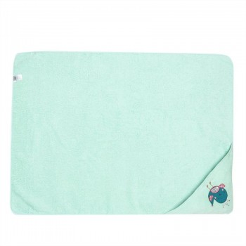 Miniklub Unisex Solid Green Towel