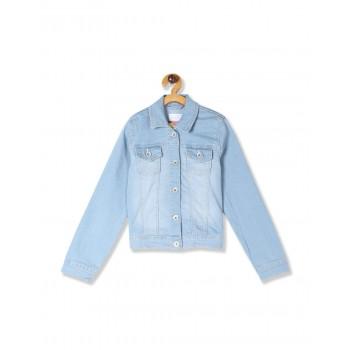 The Children's Place Girls Blue Denim Jacket