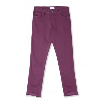 The Children's Place Girls Purple Step Hem Denim Jeans
