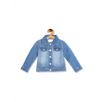 The Children's Place Toddler Girl Blue Denim Jacket
