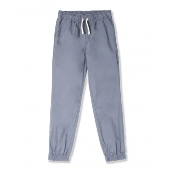 The Children's Place Boys Grey Woven Pull On Jogger Pants