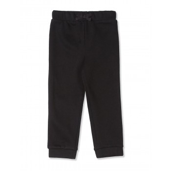 The Children's Place Toddler Girl Black  Solid Fleece Joggers