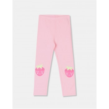 The Children's Place Toddler Girl Pink Knee Print Cotton Stretch Leggings