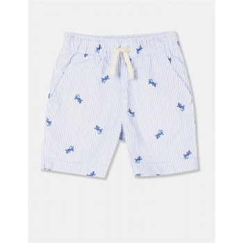 The Children's Place Toddler Boy Blue Iguana Pull On Jogger Shorts