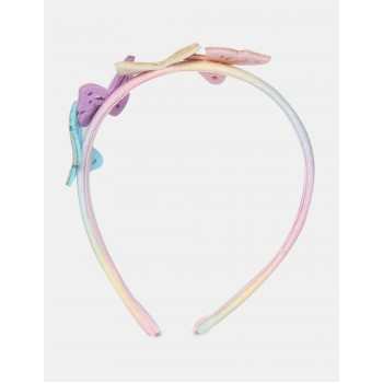 The Children's Place Girls Multi Colour Butterfly Accent Embellished Headband