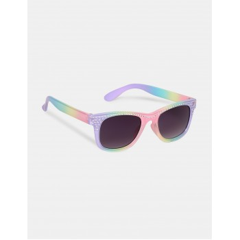 The Children's Place Multi Colour Embellished Square Frame UV Protected Sunglasses