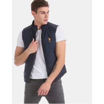 U.S. Polo Assn. Men Casual Wear Navy Blue Casual jacket