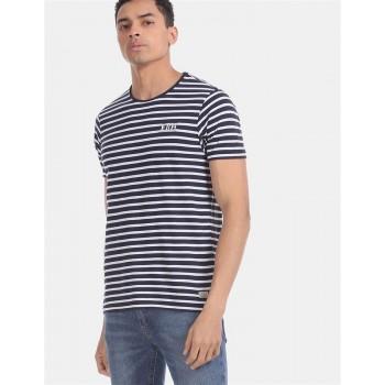 Ed Hardy Men Casual Wear Blue T-Shirt