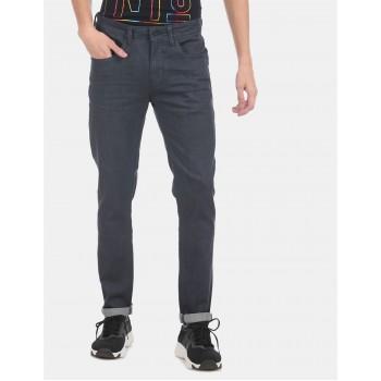 Ed Hardy Men Casual Wear Navy Blue Jeans