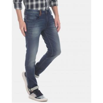 Ed Hardy Men Casual Wear Blue Jeans