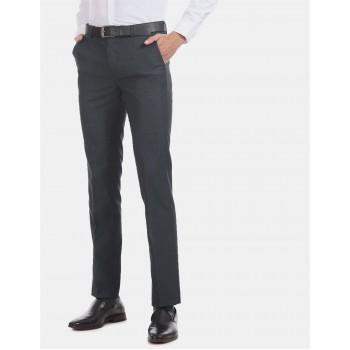 Arrow Men Formal Wear Navy Blue Trouser