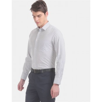 Arrow Men Formal Wear Grey Shirt