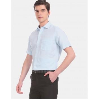 Arrow Men Formal Wear Sky Blue Shirt