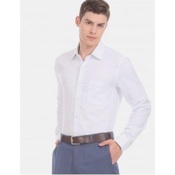 Arrow Men Formal Wear White Shirt