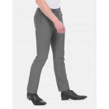 Arrow Men Formal Wear Grey Trouser