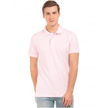 Aeropostale Men Casual Wear Pink T-Shirt