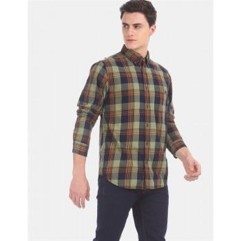 Aeropostale Men Casual Wear Multicolor Shirt
