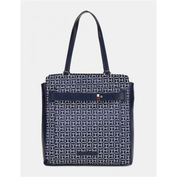 Tommy Hilfiger Women Blue Tote bag With 3 Compartment