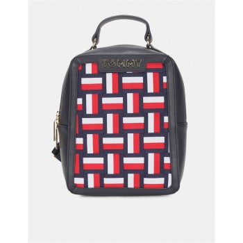 Tommy Hilfiger Women Multi Color Backpack With 3 Compartment
